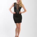 Večerní černé šaty 003 - 2 ks