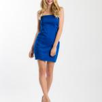 Malé modré šaty 014 - 4 ks